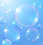 Soap Bubbles Stock Photography