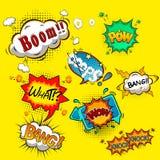bubbles komiskt anförande Fotografering för Bildbyråer