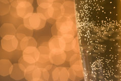 Bubbles and lights. Royalty Free Stock Photos