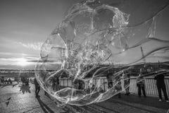 Bubbles london Stock Image