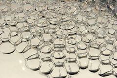 bubbles mekaniskt vatten Arkivbilder