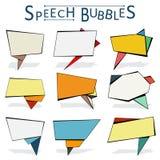 bubbles mer mitt portföljsetsanförande Arkivfoto