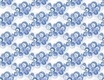 Bubbles pattern Royalty Free Stock Photos