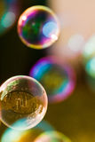 Bubbles and reflections Royalty Free Stock Images