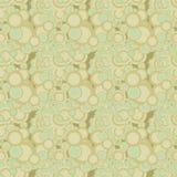 Bubbles seamless pattern Royalty Free Stock Photo