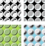 Bubbles seamless pattern Royalty Free Stock Images