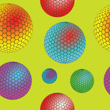 Bubbles seamless texture stock photography