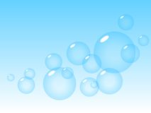 Bubbles in sky. Stock Photography