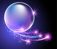 Bubbles and stars Stock Photography