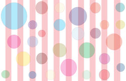 Bubbles & Stripes Royalty Free Stock Photo