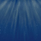 Bubbles under water background Royalty Free Stock Image