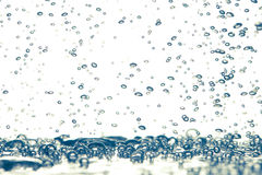 Bubbles underwater Royalty Free Stock Image