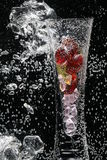 Bubbles and Vase Royalty Free Stock Photography