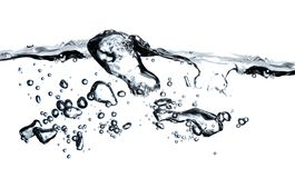 Bubbles in a water Stock Photography