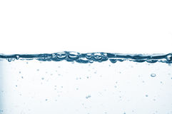 Bubbles, water waves Stock Image