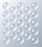 Bubblewrap, empaquetando con las burbujas de aire Foto de archivo