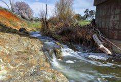 Bubbling flows at Limestone Creek Millamolong Stock Images