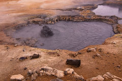 Bubbling Mud Royalty Free Stock Photography