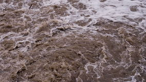 Bubbling Mud Flow stock footage