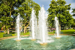 Bubbling Water Fountains Stock Photography