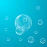 bubblor vektor illustrationer