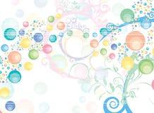 bubblor Royaltyfri Bild