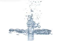 bubblor Fotografering för Bildbyråer