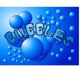Bubblor 4 royaltyfri illustrationer