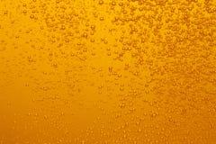Bubblor av öl royaltyfri foto