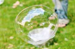 Bubblor i luften Royaltyfria Foton