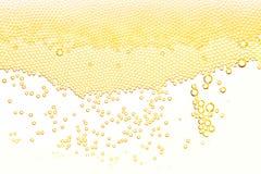 Bubblor och skum Arkivfoto