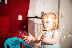Bubblorna Royaltyfria Foton