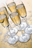 Bubbly champagne Royalty Free Stock Photos