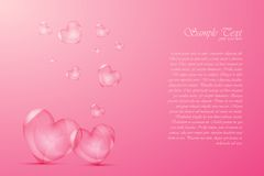 Bubbly Heart Royalty Free Stock Photo