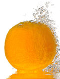 Bubbly Orange Royalty Free Stock Image