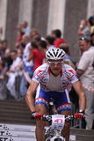 bubilekmichal prague för 2011 cykel race Fotografering för Bildbyråer