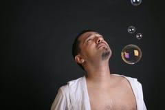 bubles σαπούνι Στοκ φωτογραφία με δικαίωμα ελεύθερης χρήσης