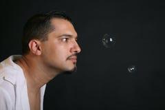 Bubles del jabón Fotografía de archivo