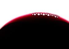 Bubles del vino Fotos de archivo libres de regalías