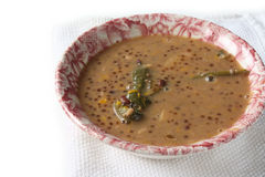 Bubur Kacang Merah- red bean porridge Stock Photos