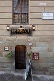 Buca Di S. Francesco Restaurant Arezzo Italy Royalty Free Stock Images