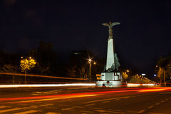 Bucarest alla notte Immagini Stock Libere da Diritti