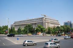 Bucarest, coche, zona metropolitana, señal, cielo imagenes de archivo