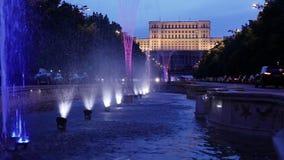 Bucarest, el parlamento rumano metrajes