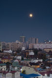Bucarest en la noche Foto de archivo
