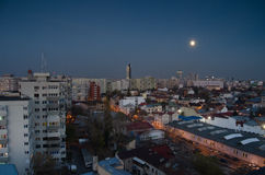 Bucarest en la noche Imagenes de archivo