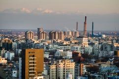 Bucarest-industriel images libres de droits