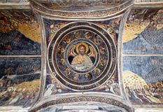 Bucarest - monastero di Stavropoleos Fotografia Stock