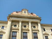 Bucarest - National Bank della Romania Fotografia Stock Libera da Diritti