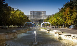 Bucarest Parliament Palace Royalty Free Stock Images